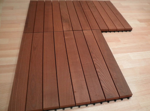 Thermo Ash - Real Wood Decking