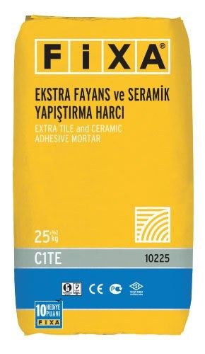 FIXA Extra Tile and Ceramic Adhesive Mortar C1TE