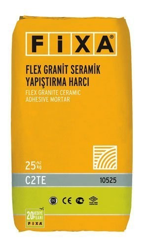 FIXA Flex Tile and Ceramic Adhesive Mortar C2TE